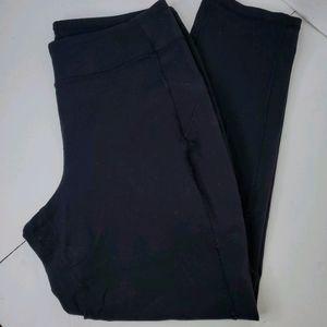 Duluth Trading Co Black Yoga Leggings Pants size L